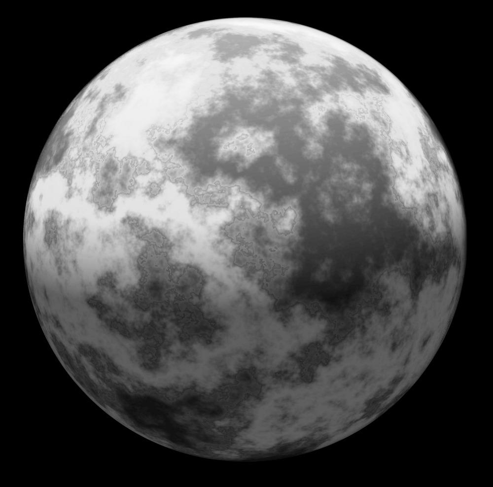 full moon water